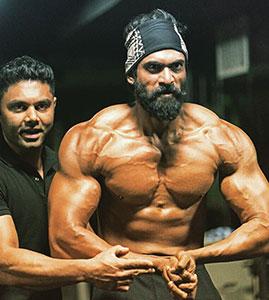 Rana bodybuilder The jigsaw