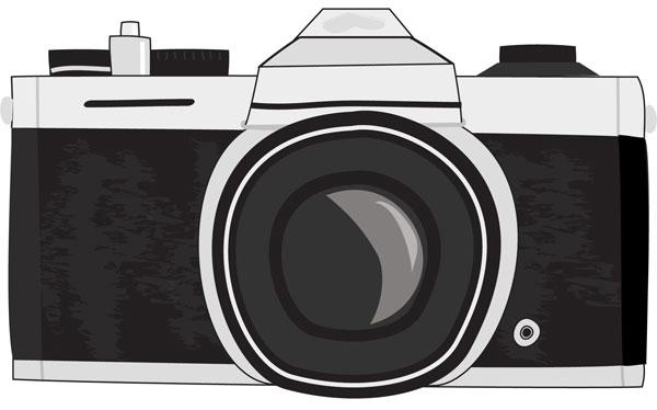 Camera Vintage Vector Png : Old vintage camera drawing easy: camera drawings jpg download. learn