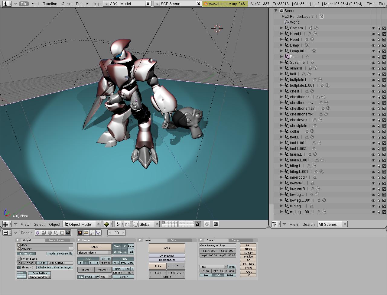 3-D computer animation