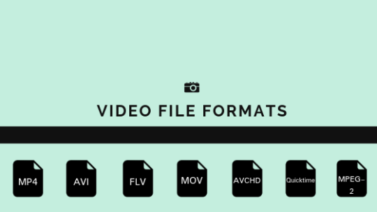 6 BEST VIDEO FILE FORMATS YOU MUST KNOW 1