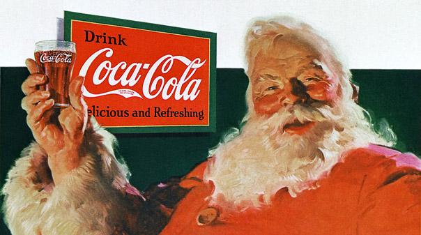Coca-Cola ad print of 1931