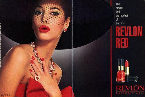 advertisement from 1988 for Revlon